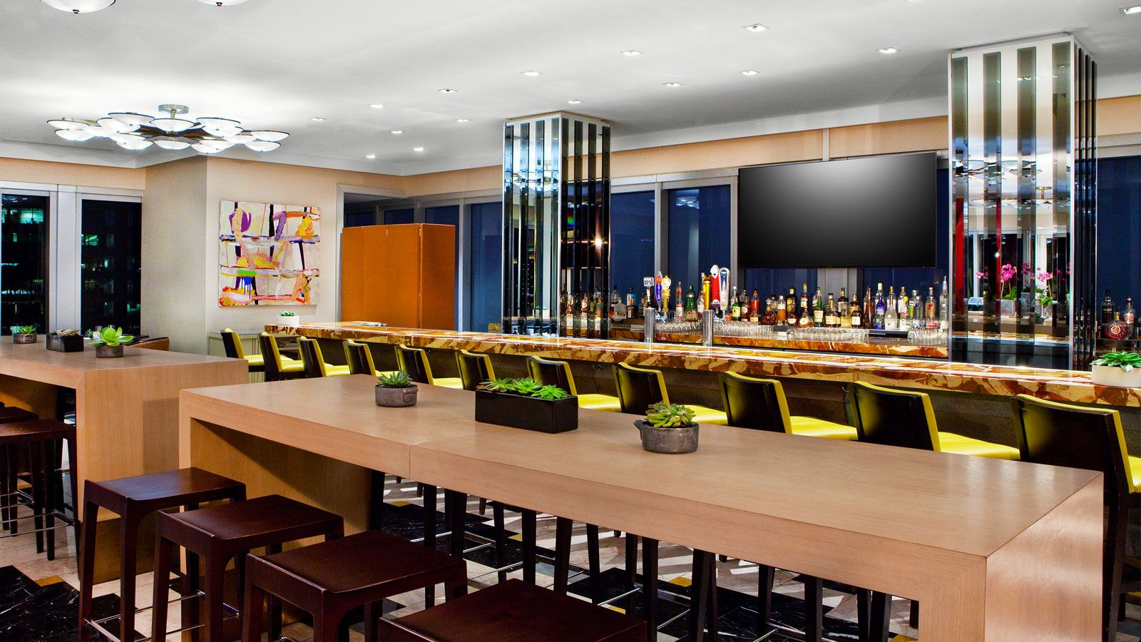 Brickell restaurants downtown miami w miami for W hotel in room dining menu