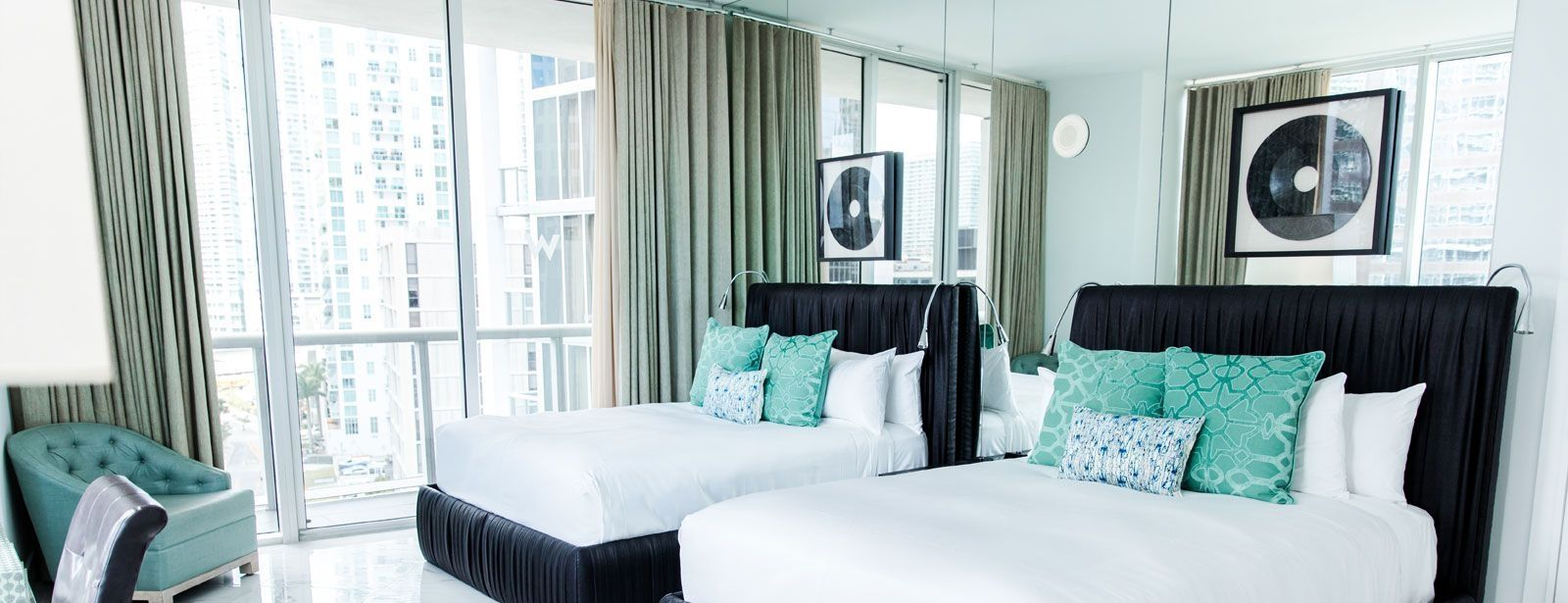 Wow Suite Double Beds | W Miami